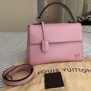SOLD‼️ Louis Vuitton Cluny BB Rose Ballerine